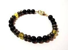 Резултат с изображение за bracelets citrine handmade