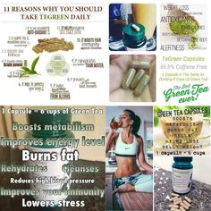 Green tea works wonders on your body!  To order directly visit: http://kgrego1114.nsproducts.com