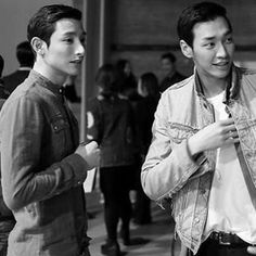 Lee Soo Hyuk and Kim Young Kwang