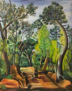 Moïse Kisling (born Mojżesz Kisling 1891~1953, Polish-Jewish Artist/Painter)