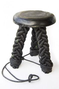 // Rope stool, David Derksen