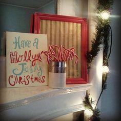 Christmas Mantle by ramona