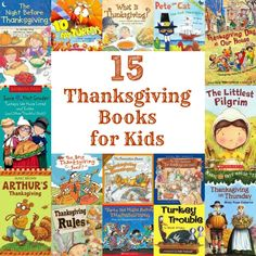 15 Thanksgiving Books for Kids via @natlubrano on @Untrained Housewife #thanksgivingbooks