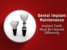 Care for your #dentalimplants even as well as you'd look after your natural teeth. Thorough #oralhygiene is necessary to prevent diseases around the implants with correct home care and regular professional maintenance.