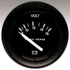 Volvo Penta 873199 Volt Meter 12 volt
