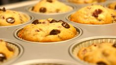 Chocolate chip muffins recipe - super tasty and fluffy muffins ;)