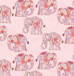 Valori Wells Karavan-Marrakech-Artisan Fabric - Sewing Fabrics - Fabrics - Sewing, Fabric and Quilting RUCraft Elephant Fabric, Elephant Love, Elephant Art, Colorful Elephant, Elephant Pattern, Dibujo Paisley, Textures Patterns, Fabric Patterns, Indian Patterns