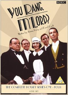 At Meldrums - You Rang, M'Lord? Adventures and misadventures of Lord Meldrum, his family and their servants. Set in -Kathy H Comedy Tv Shows, Comedy Series, Life In The Uk, Bbc Tv Series, Classic Comedies, Movies To Watch Online, Watch Movies, British Comedy, British Actors