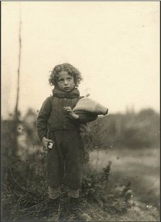 French child; WW I   huh that child looks like my mother  a generation early