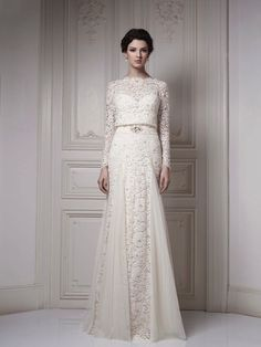 Textural and full of gorgeous detailing and design, this gown is truly fit for all kinds of brides.