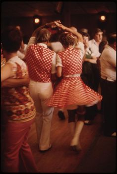Polka Dancers at the Gibbon Ballroom in Gibbon, Minnesota 20 Miles North of New Ulm... by The U.S. National Archives, via Flickr