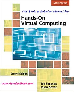 Test bank for human physiology from cells to systems 3rd edition test bank solution manual for hands on virtual computing 2nd edition product details by ted simpson author jason novak author series mindtap course fandeluxe Choice Image