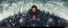 King in the North by João Silva.
