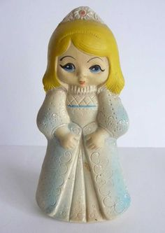 1950s Vintage USSR Russian Soviet Rubber Doll CINDERELLA