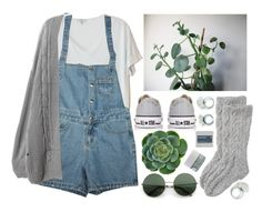 """""""Succulent"""" by child-of-the-tropics ❤ liked on Polyvore featuring Clu, Converse, Toast, Korres, calm and succulent"""