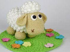 Little Lamb Lucky Crochet Pattern / Amigurumi / PDF by DioneDesign