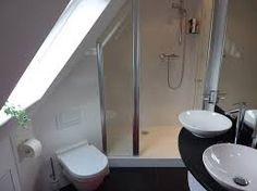 kleine badkamer schuin dak - badkamer op zolder   Pinterest - Met en ...