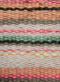 Hand Weaving.