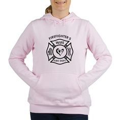 Firefighter Wife Women's Hooded Sweatshirt