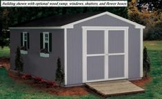 Painting a Wood Shed Is Easy AND Fun… Painting a shed with LP™ siding isn't hard. Just following these basic painting steps will help you get a beautiful color and give your backyard that attractive quality you desire. Good luck and have fun!