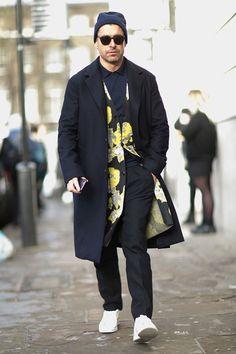 London fashion week street style 2016.