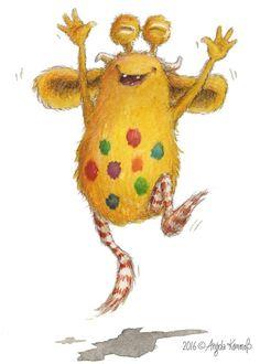"#happiness with Loni! #childrensbook #kinderbuch ""Loni lacht!"" – ""Loni sonríe""  visit Loni: www.loni-lacht.de"