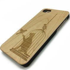 16.99$ Cat wooden case #cat #design #art #phone #case #cover  www.jiacase.com