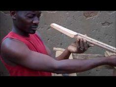 Guitar Maker at Dzaleka Refugee Camp, Malawi