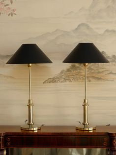 Kips Bay Decorator Show House - candlestick table lamp