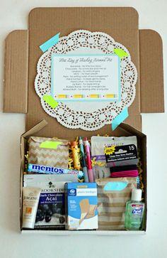 {Back to School} DIY First Day of School Teacher Survival Kit