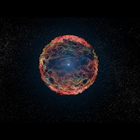 Hubble Finds Supernova Companion Star after Two Decades of Searching. Using the Hubble Space Telescope, astronomers have identified the blue helium-burning companion star, seen at the center of the expanding nebula of debris from the supernova. Cosmos, Hubble Space Telescope, Space And Astronomy, Telescope Craft, Astronomy Science, Earth Science, Science Nature, Interstellar, Deep Space