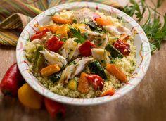 Couscous tunisien de poissons #DanOn #recette