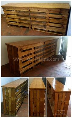 Pallet Counter for Grocery Store | 1001 Pallets. This is so fab is you have a shabby chic, rustic store and want to spend a fortune on fake rustic.