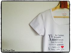 Say it with a T-shirt #Valentine
