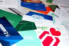 Cartões - diversos modelos