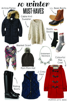 Canadian Winter Must Haves   Peachy Life