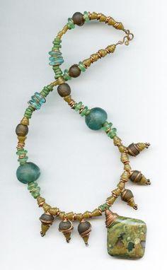 AFRICAN  JEWELRY TRIBAL | Handmade African tribal Krobo bead jewelry and fashion jewelry from ...