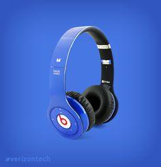 Headphones that won't need wrapping. Beats Wireless Headphones by Dr. Dre. #thatsgenius #verizontech