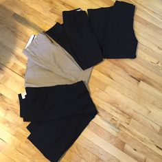 Dress pants Bundle for $45 or sold individually.                                 Michael Kors wide leg size 4  (black) = $20              The Limited boot cut size 2 (tan) = $20                    H&M skinny size 4 (black) = $16                        The Limited boot cut size 6 (black) $20 Pants
