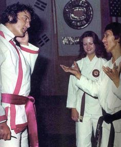 ELVIS had a long standing desire to make a documentary film about the martial arts. His love for karate had made him both an aficionado and a patron.