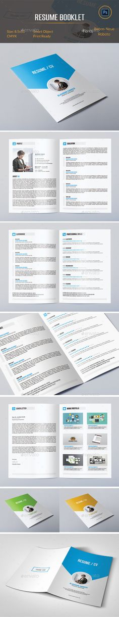 Resume Template | Pinterest | Template, Creative resume templates ...