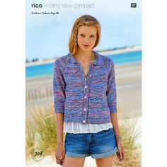 Cardigans in Rico Fashion Colour Pop DK - Discover more Patterns by Rico at LoveCrafts. From knitting & crochet yarn and patterns to embroidery & cross stitch supplies! Hand Knitting Yarn, Colour Pop, Color, Lang Yarns, Dress Gloves, Yarn Brands, Fashion Colours, Cardigans For Women, Knit Cardigan
