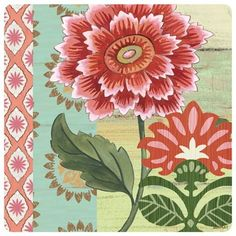 Bloom Square-22 by Jennifer Brinley | Ruth Levison Design