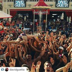 #Repost @davidguetta with @repostapp ・・・ Complete madness today @encorebeachclub ! #vegas #poolparty