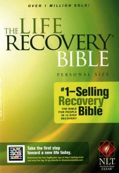 22 best aa and na recovery books and workbooks images on pinterest the life recovery bible fandeluxe Images