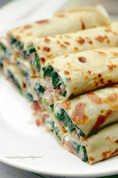 Pin on Beauty Pin on Beauty Vegetarian Recipes, Cooking Recipes, Healthy Recipes, Ham Recipes, Brunch Recipes, Appetizer Recipes, Mini Pizza, Polish Recipes, International Recipes
