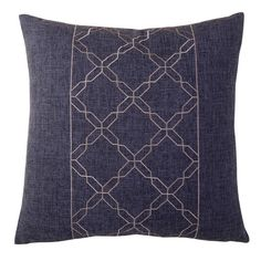 Found it at Wayfair - Cross Chain Throw Pillow