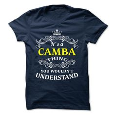 [Cool tshirt names] CAMBA  Discount Codes  CAMBA  Tshirt Guys Lady Hodie  SHARE TAG FRIEND Get Discount Today Order now before we SELL OUT  Camping a jaded thing you wouldnt understand tshirt hoodie hoodies year name birthday