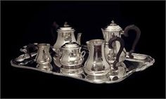 Puiforcat 19th Century Antique Sterling Silver Tea / Coffee Set 0 1890s    Price: $19,999.00