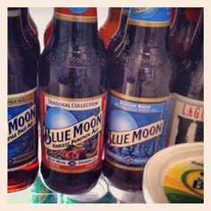 Blue Moon.  Beer.